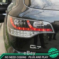 New For Audi Q7 LED Taillights 2007-2009 Dark Or Red LED Rear Lamps Quality