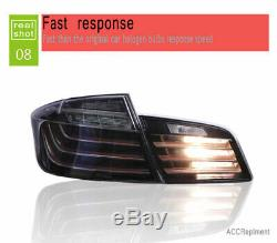 New For BMW 5 Series F10 F18 LED Taillight 2011-2016 Dark LED Rear Lamps Quality