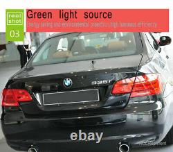 New For BMW M3 E92 LED Taillights 2011-2013 Dark Or Red LED Rear Lamps Quality