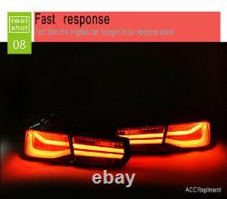 New For BMW M3 F35 F30 LED Taillights 13-17 Dark Or Red LED Rear Lamps Quality