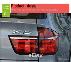 New For BMW X5 E70 LED Taillights 2007-2011 Dark Or Red LED Rear Lamps Quality