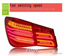 New For Chevrolet Cruze LED Taillights 11-15 Dark Or Red LED Rear Lamps Quality