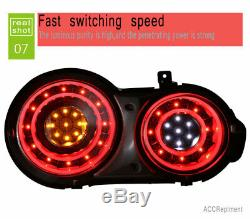 New For Nissan GTR LED Taillights 2009-2018 Dark Or Red LED Rear Lamps Quality