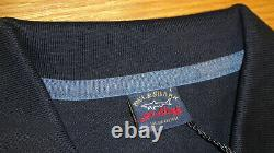 New Paul & Shark Polo Shirt Navy Blue Size Large Superb quality Must See WOW
