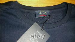 New Paul & Shark Sweatshirt Blue Size Large Shark Fit Superb quality Great Top