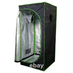 New Premium Quality Grow Tent 600D Indoor Hydroponics Bud Box Dark Room Any Size