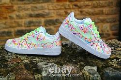 Nike Air Force 1 MID All Eyez On Me UV Glow in the dark the BEST QUALITY