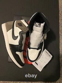 Nike Air Jordan 1 Retro OG Dark Mocha Size 13 Brand New 100% Authentic AJ1
