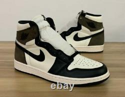 Nike Air Jordan Retro 1 HIGH OG Dark MOCHA Brown Black 2020 555088-105 Men & GS
