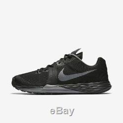Nike Train Prime Iron DF Blac Dark Gry Training Gym Shoes 832219-007 US Sz 10.50