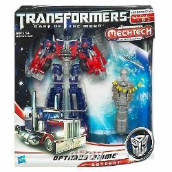 Optimus Prime Mechtech Class Level 2 Transformers Dark of the Moon Figur Hasbro