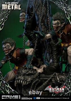 PRIME 1 STUDIOEXCLUSIVEDARK NIGHTS METALBATMAN WHO LAUGHS 13 Scale Statue