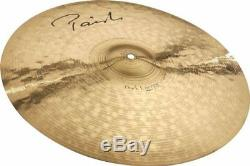 Paiste 4801419 Top Quality Signature Dark Energy Series 19 Crash Mark I Cymbal