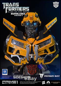 Prime 1 Studio Transformers Dark of the Moon Bumblebee Polystone bust PBTFM-08