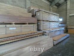 Prime Wenge Solid Wood Worktop, 40mm staves, Very Dark Real Solid Wood Worktops