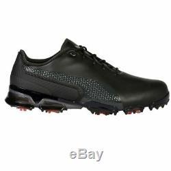 Puma Ignite Proadapt Spiked Golf Shoes Black/dark Shadow Rrp £200+ Quality