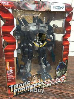 Rare Dark Optimus Prime Transformers Leader Class Takara Tomy Original