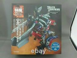 SCI-FI Revoltech Transformers Dark of the Moon Optimus Prime Jetwing equipped JP