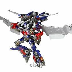 SCI-FI Revoltech Transformers Dark of the Moon Optimus Prime Jetwing equipped v