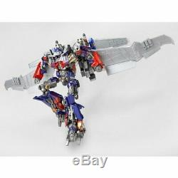 SCI-FI Revoltech Transformers Dark of the Moon Optimus Prime Jetwing equipped ve