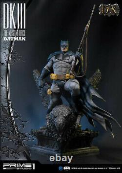 SIDESHOW Prime 1 DKIII BATMAN DARK KNIGHT Master Race Deluxe Exclusive statue