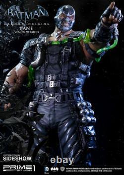 SIDESHOW Prime 1 STUDIO 3 BATMAN Bane Venom Arkham Knight Origins STATUE Dark