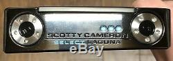 Scotty Cameron 2018 Select Laguna Putter New RH Xtreme Dark Finish IHV
