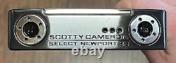 Scotty Cameron 2018 Select Newport 2.5 Putter New RH Xtreme Dark Finish