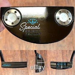 Scotty Cameron 2020 Special Select Del Mar Putter LH New -Xtreme Dark Finish