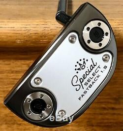 Scotty Cameron 2020 Special Select Fastback 1.5 Putter New -Xtreme Dark Finish