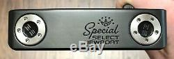 Scotty Cameron 2020 Special Select Newport Putter New RH -Xtreme Dark Finish