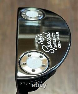 Scotty Cameron Special Select Del Mar Putter LH NEW Xtreme Dark DLC -IXOYE