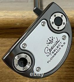 Scotty Cameron Special Select Flowback 5.5 Putter New Xtreme Dark Finish