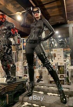 Selina Kyle Catwoman Sideshow Prime Scale Statue Batman Dark Knight Rises New