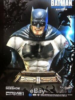 Sideshow Prime One Studio Batman The Dark Knight Bust SDCC 2017 Blue Version NIB
