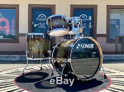 Sonor Select Force Stage 3 5-piece Shell Pack, Dark Forest Burst