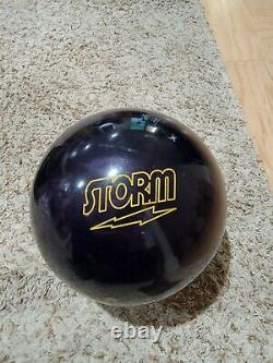 Storm Dark Code 1st Quality Bowling Ball 14 Pounds 2.5-3 Pin 3.1oz TW