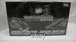 Takara Tomy Transformers United Darkside Optimus Prime & Megatron Mint Sealed