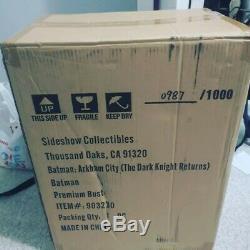 The Dark Knight Returns Batman bust Prime 1 Studio 903230 Brand new In Box