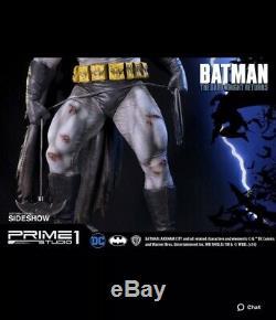 The Dark Knight Returns -Prime 1 Statue -Sideshow-New In Box 0140/1500
