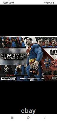 The Dark Knight Superman 1/3 Scale Statue Deluxe Version MMDCDK3-02DX Prime 1