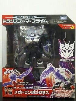 Transformers Arms Micron AM-15 Voyager Class Darkness Megatron Prime GO! Rare