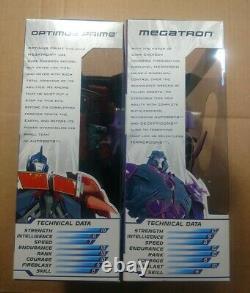 Transformers Dark Energon OPTIMUS PRIME / MEGATRON NEW IN BOX Voyager Class
