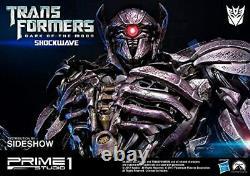 Transformers Dark Of The Moon Shockwave Statue 93cm PRIME1 STUDIO / Sideshow New