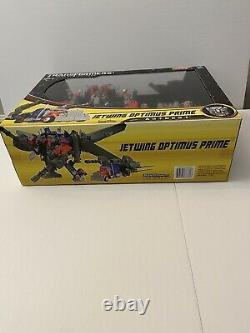 Transformers Dark Of The Moon Ultimate JETWING OPTIMUS PRIME MISB