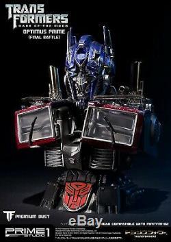 Transformers Dark Side Moon Optimus Prime Premium bust Prime 1 Studio