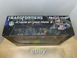 Transformers Dark of the Moon ELECTORNIC Ultimate JETWING OPTIMUS PRIME MISB