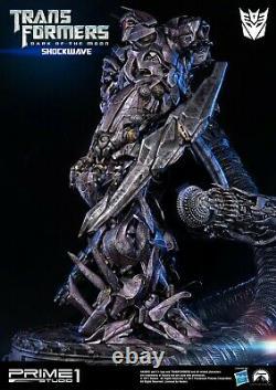 Transformers Dark of the Moon Film Shockwave Statue by Prime1Studio New