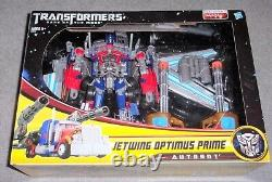 Transformers Dark of the Moon JETWING OPTIMUS PRIME Supreme Class DOTM Movie New