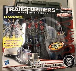 Transformers Dark of the Moon Ultimate Optimus Prime Dotm MISB